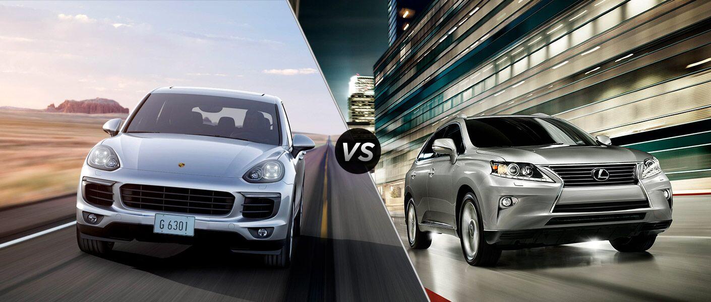 2014 Porsche Cayenne vs Lexus RX350