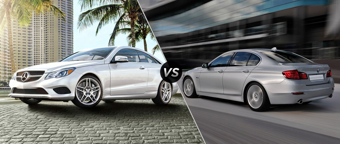 2014 Mercedes-Benz E-Class vs BMW 4-Series