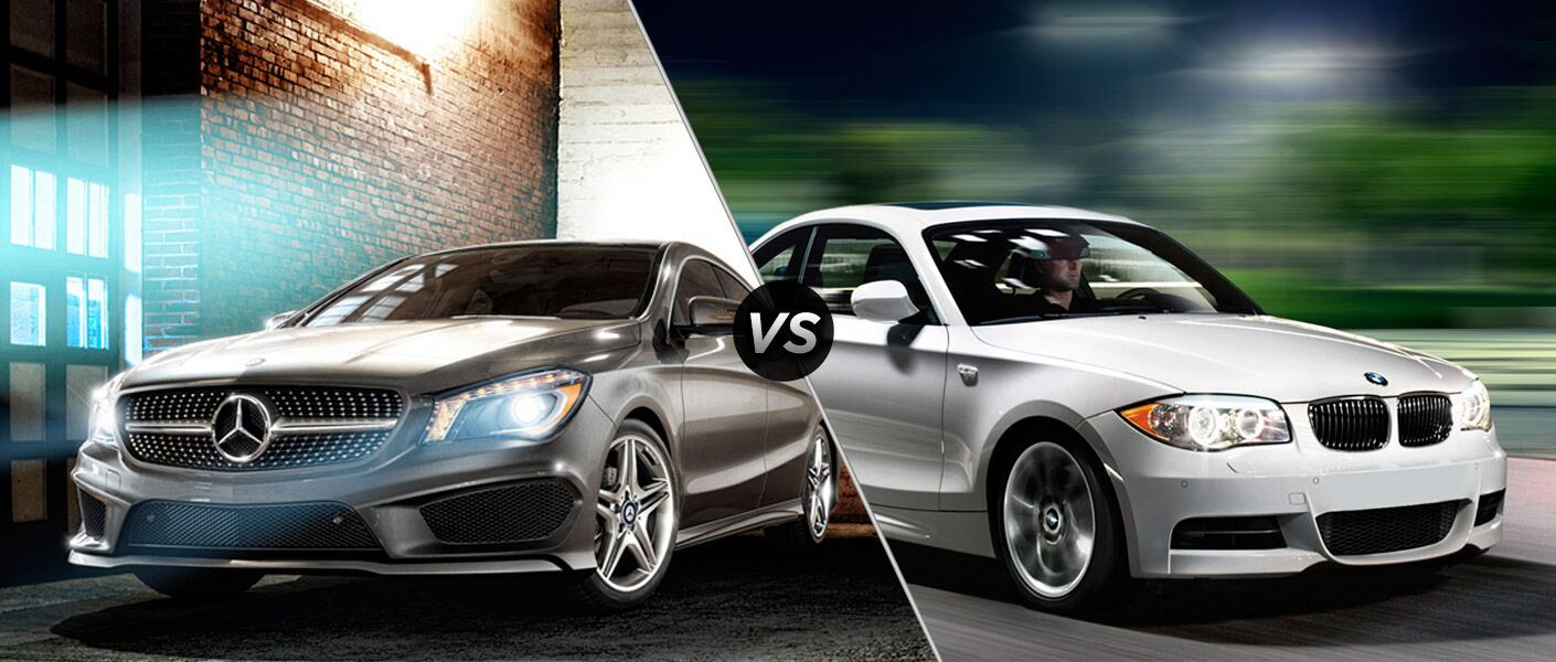 2014 Mercedes-Benz CLA vs BMW 128i