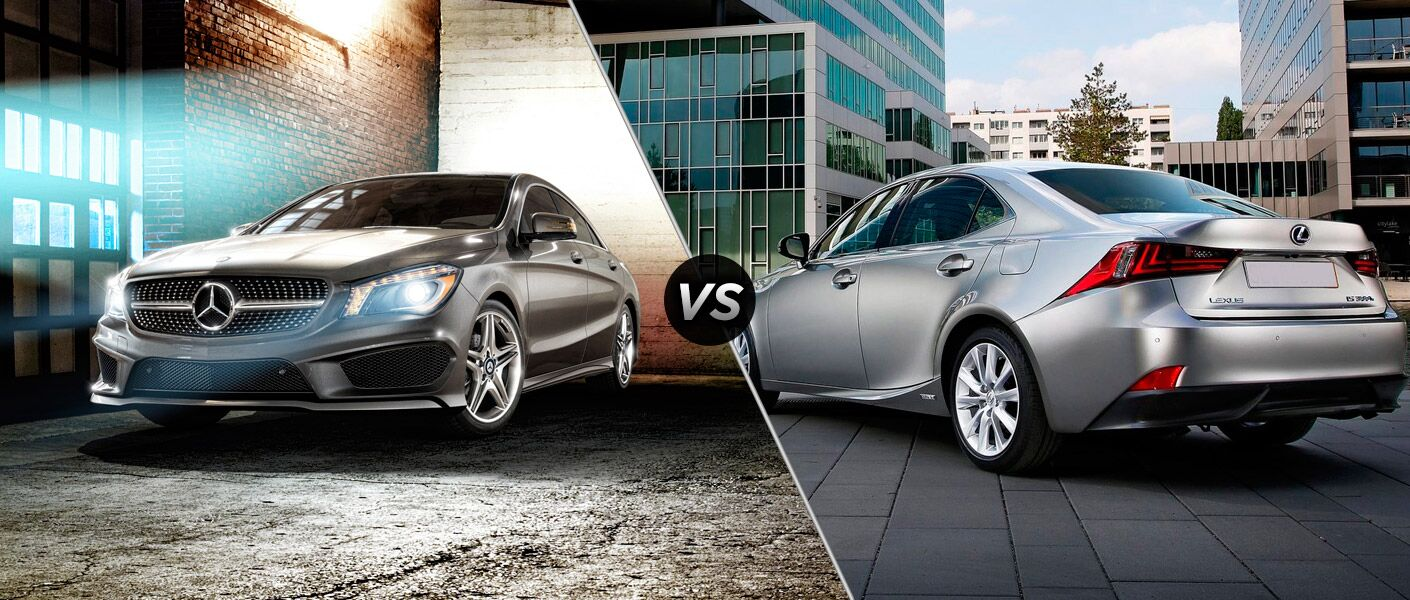 2014 Mercedes-Benz CLA vs Lexus IS 250