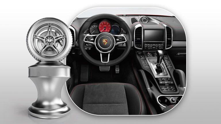 2015 Porsche Cayenne awards
