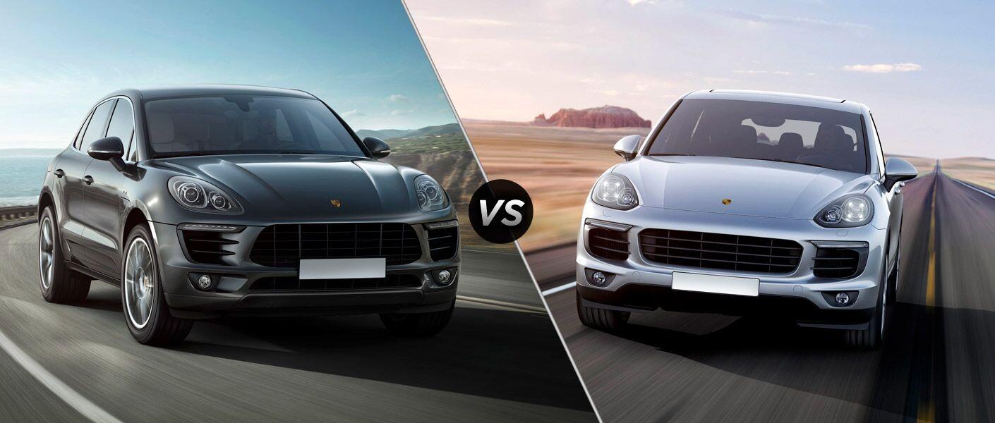 2015 Porsche Macan vs Porsche Cayenne