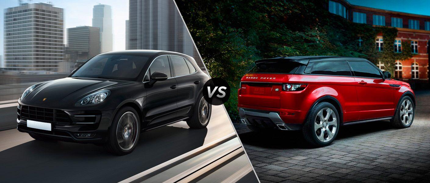 2015 Porsche Macan vs Land Rover Range Rover Evoque