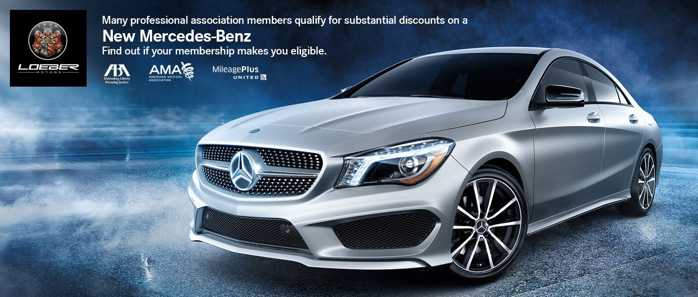 Mercedes-Benz Discounts Professional Association Members Loeber Motors