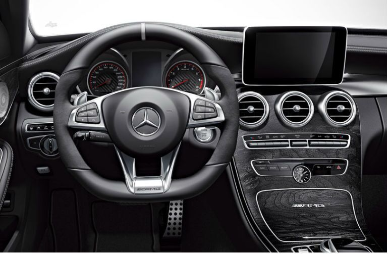 2015 Mercedes-AMG C63 Loeber Motors Interior Steering Wheel
