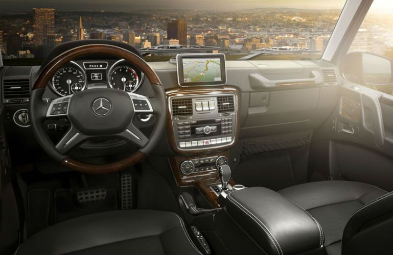 2015 Mercedes-Benz G-Class Leather Interior Chicago IL