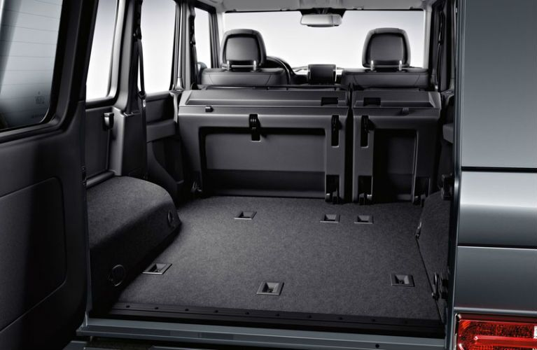 2015 Mercedes-Benz G-Class Power Folding Rear Seats