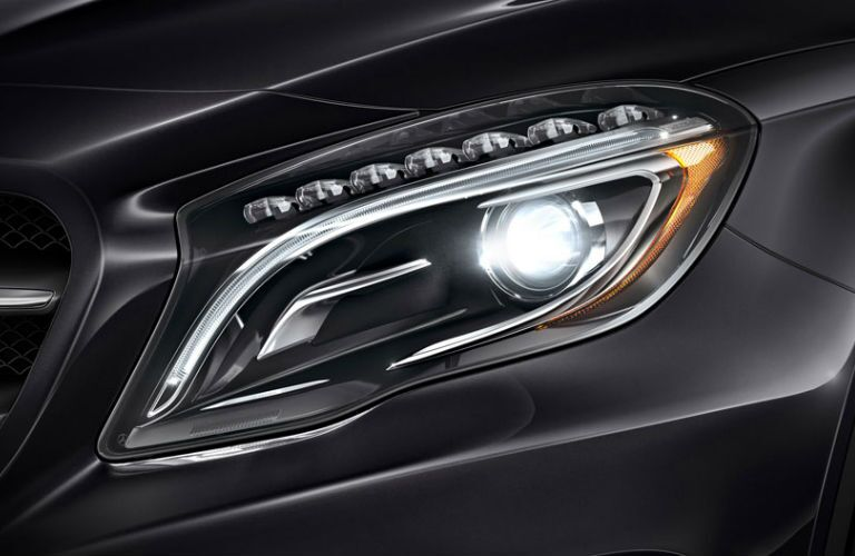 2016 Mercedes-Benz GLA45 AMG LED Headlights