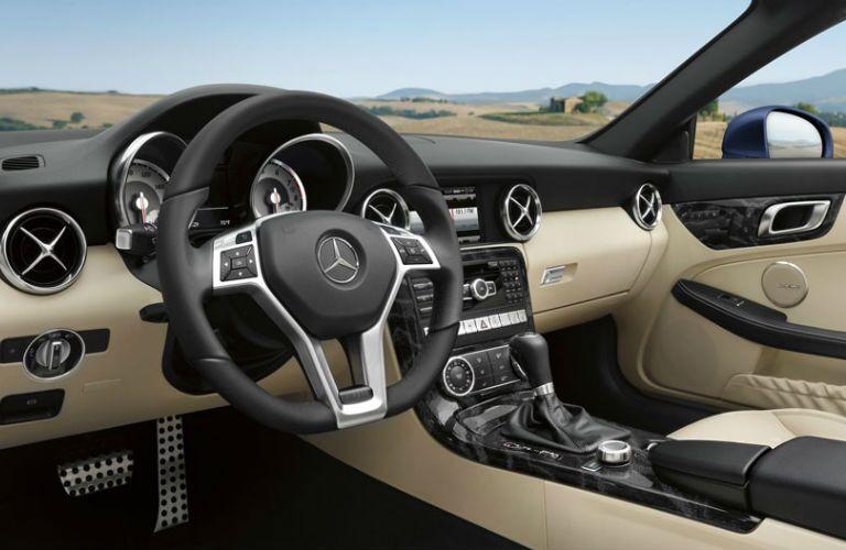 2015 Mercedes-Benz SLK-Class tan Interior