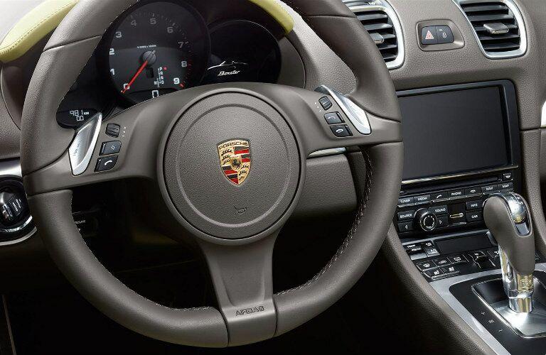 2015 Porsche Boxster Chicago IL Steering Wheel
