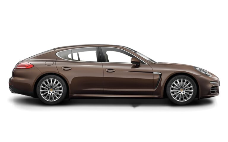 2015 Porsche Panamera Brown Side View