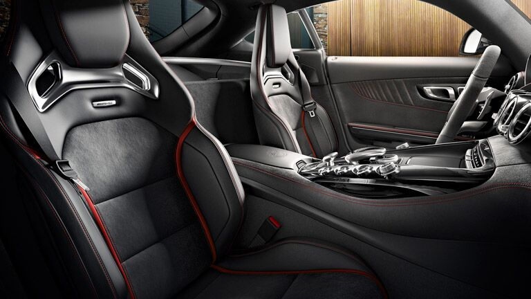 2016 Mercedes-AMG GT S Interior Racing Seats