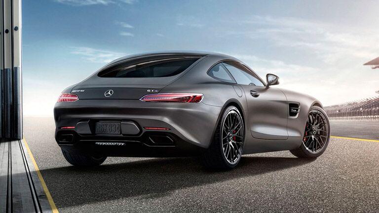 2016 Mercedes AMG GT S Hatch Rear Design