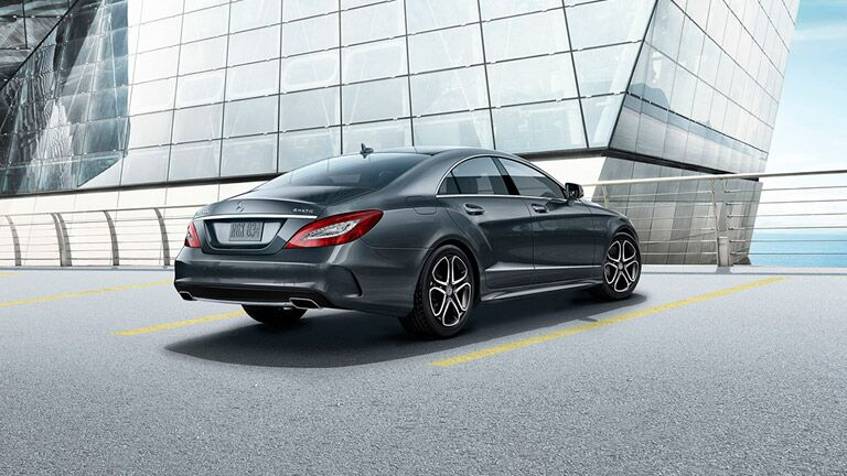 2016 Mercedes-Benz CLS-Class Rear View Grey