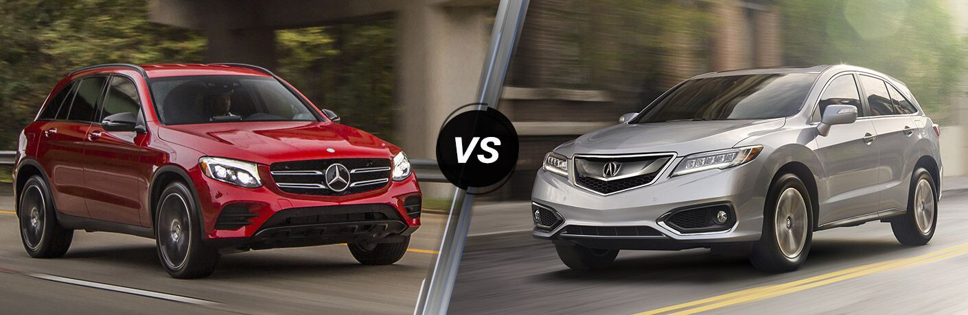 2016 Mercedes-Benz GLC vs. Acura RDX