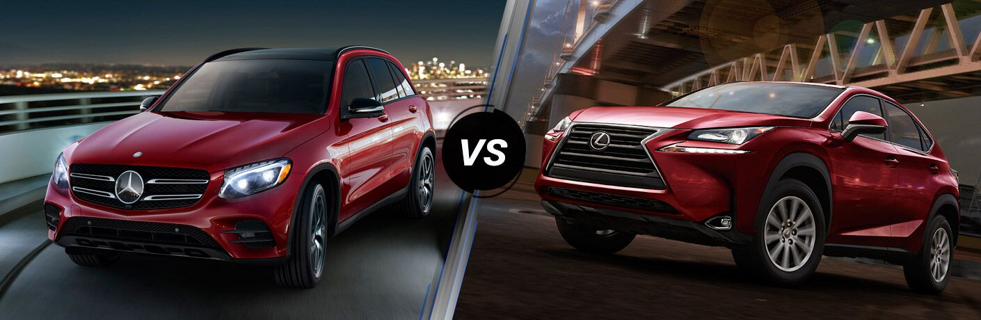2016 Mercedes-Benz GLC vs. 2016 Lexus NX 200t