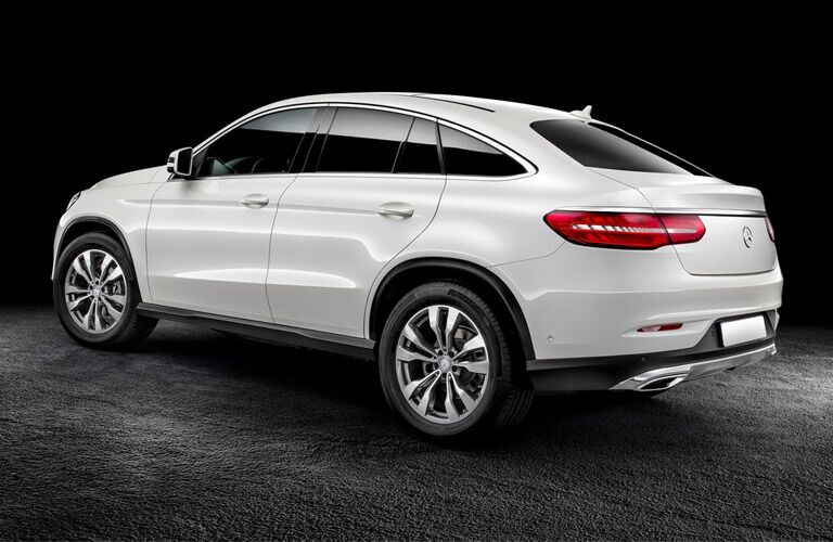 All-new Mercedes-Benz GLE Coupe Rear View