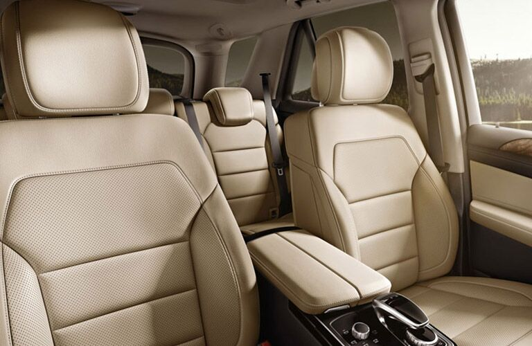 2016 Mercedes-Benz GLE300d Tan Leather Seats