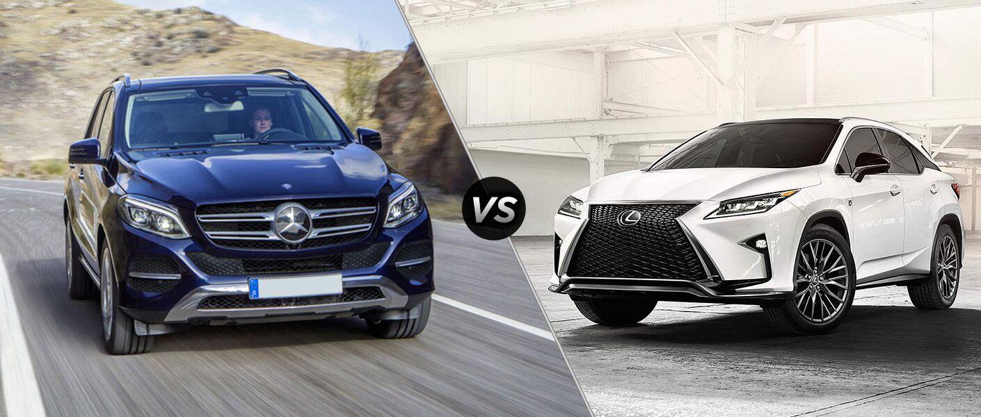 2016 Mercedes-Benz GLE SUV vs 2016 Lexus RX 350