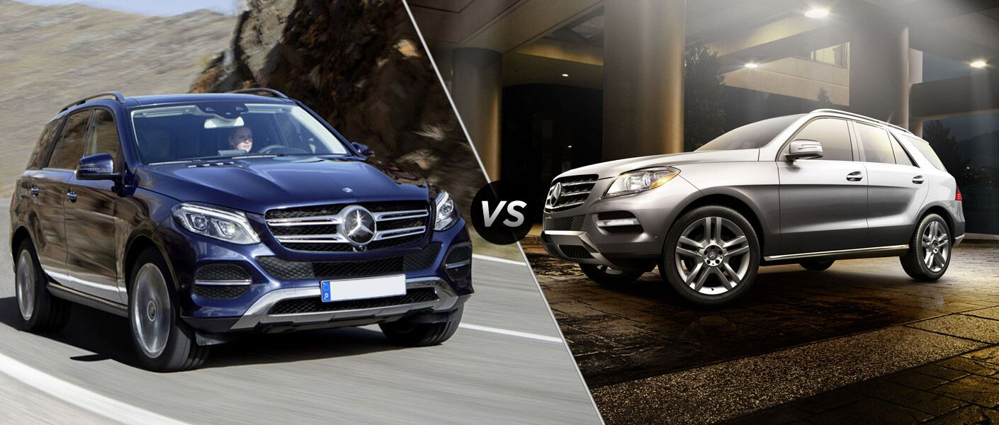 2016 mercedes benz gle vs mercedes benz m class for Mercedes benz financial payment address