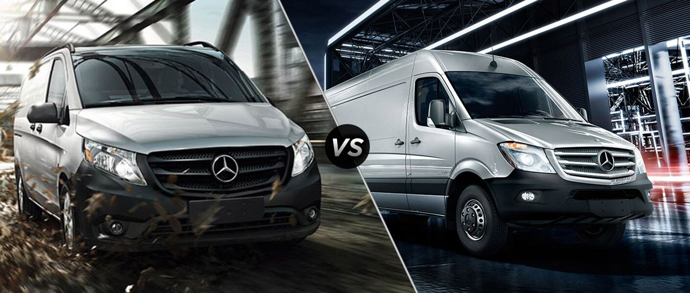 2016 Mercedes-Benz Metris vs. Sprinter