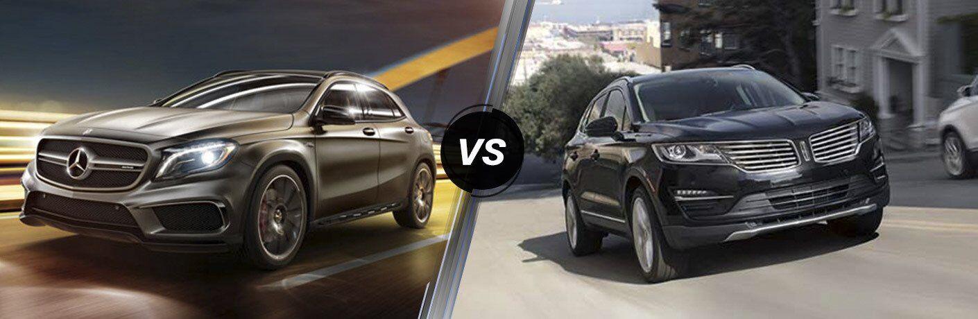 2017 Mercedes-Benz GLA vs 2017 Lincoln MKC