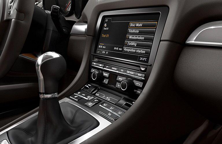 2016 Porsche Cayman CDR Audio System