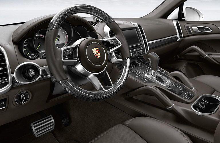 2016 Porsche Cayenne Turbo Sport Steering Wheel