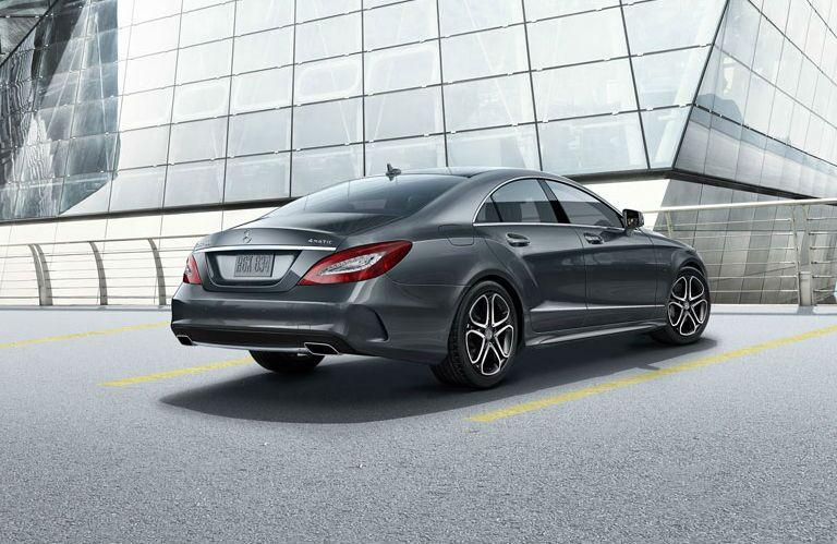 2016 Mercedes-Benz CLS-Class Rear Three quarters
