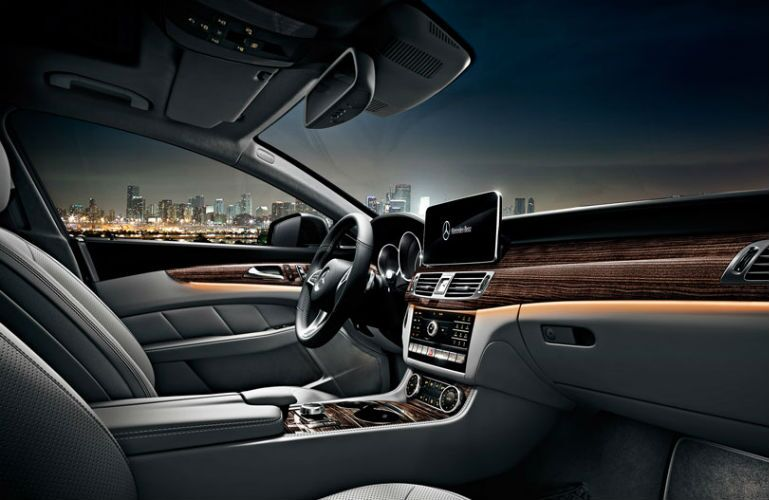 Front Seat of 2016 Mercedes-Benz CLS-Class