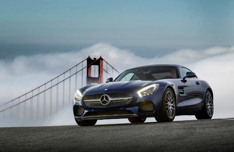 2016 mercedes-amg gt s Blue Grille Image Gallery
