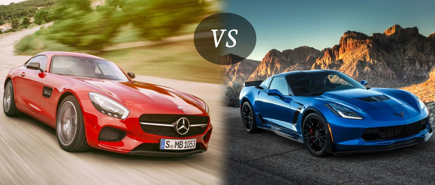 2016 Mercedes-AMG GT vs Chevy Corvette Z06