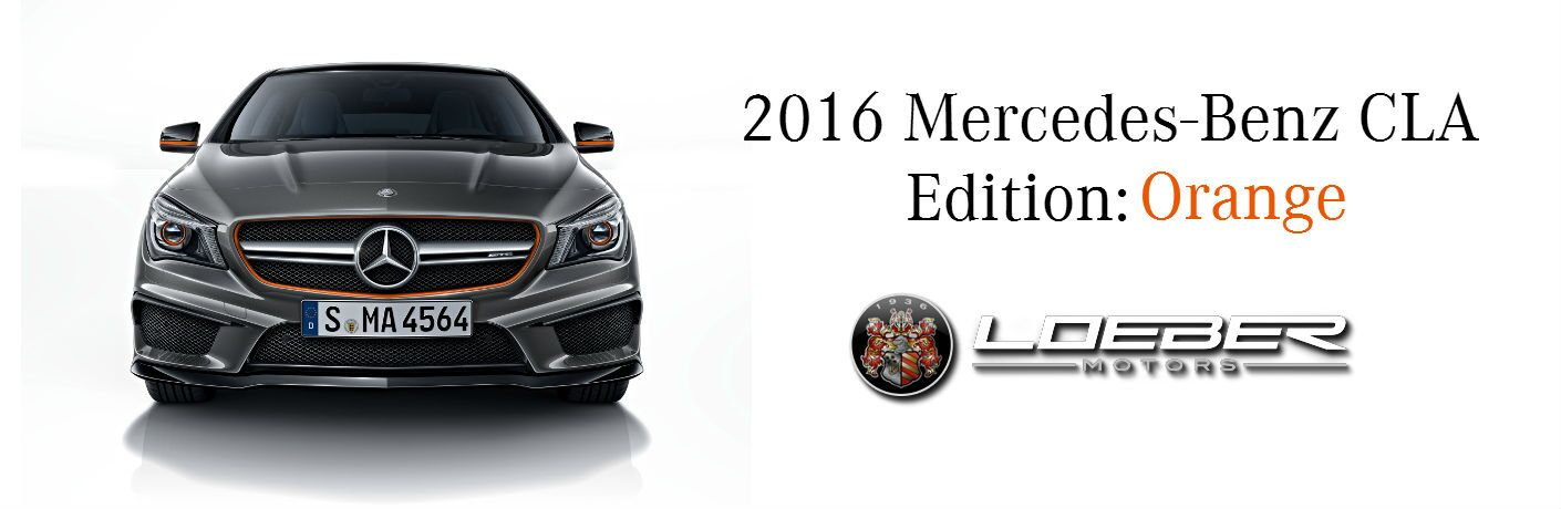2016 Mercedes-Benz CLA250 Edition: Orange Chicago IL