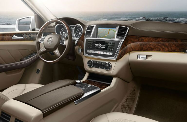 Mercedes-Benz GL-Class Interior