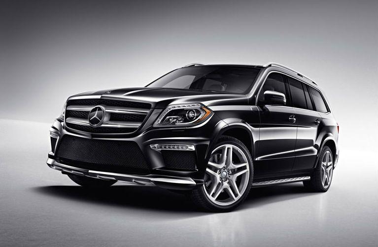 Black 2016 Mercedes-Benz GL-Class