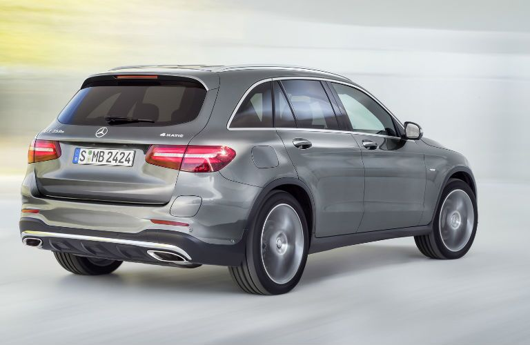 2016 Mercedes-Benz GLC Rear Three Quarters