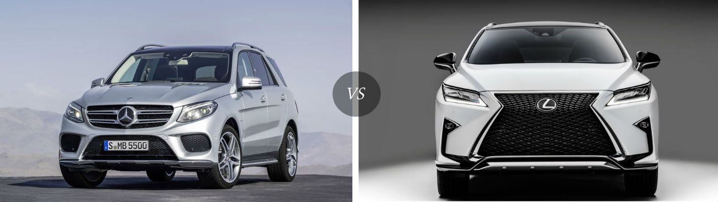 Differences Between GLE SUV and Lexus RX350