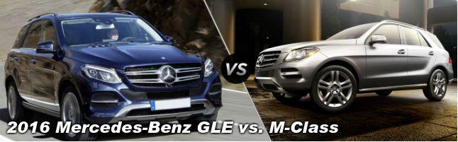 2016 Mercedes-Benz GLE vs Mercedes-Benz M-Class