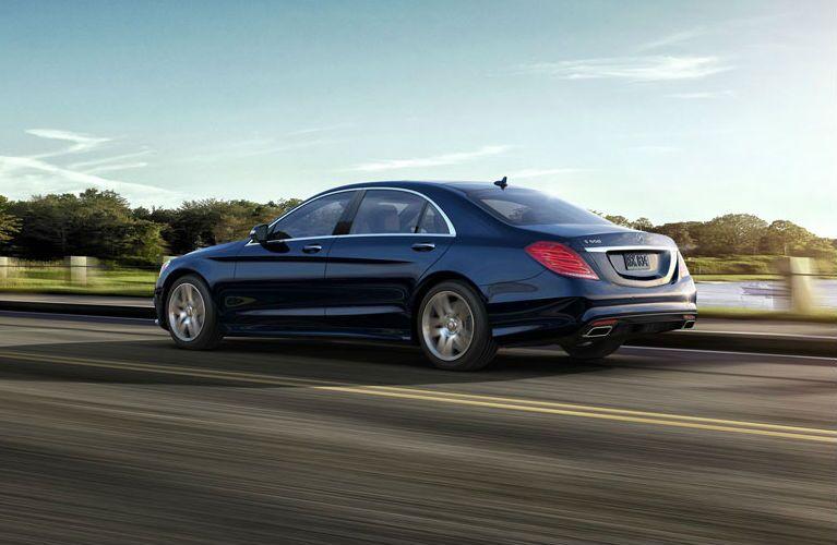 2016 Mercedes-Benz S-Class Blue