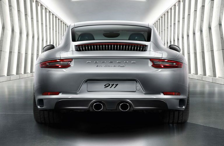 2016 Porsche 911 Carrera Rear Exhaust