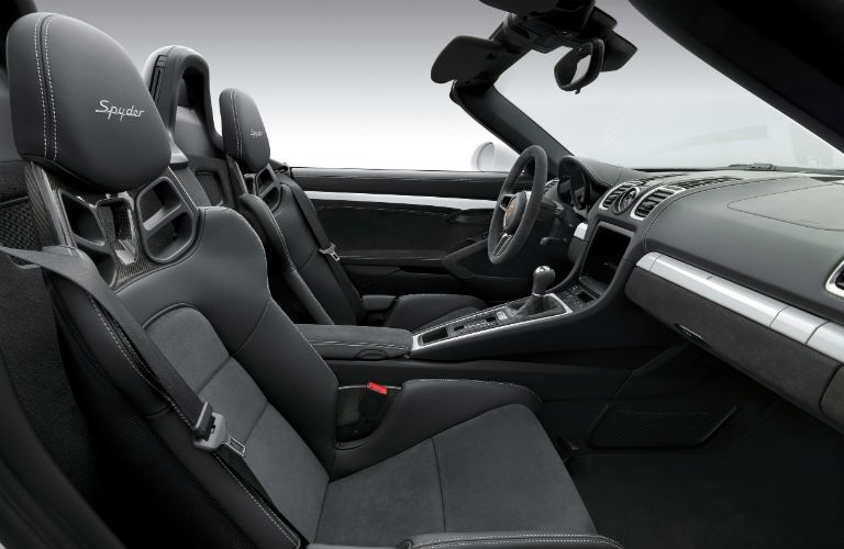 2016 Porsche Boxster Spyder Interior Chicago iL