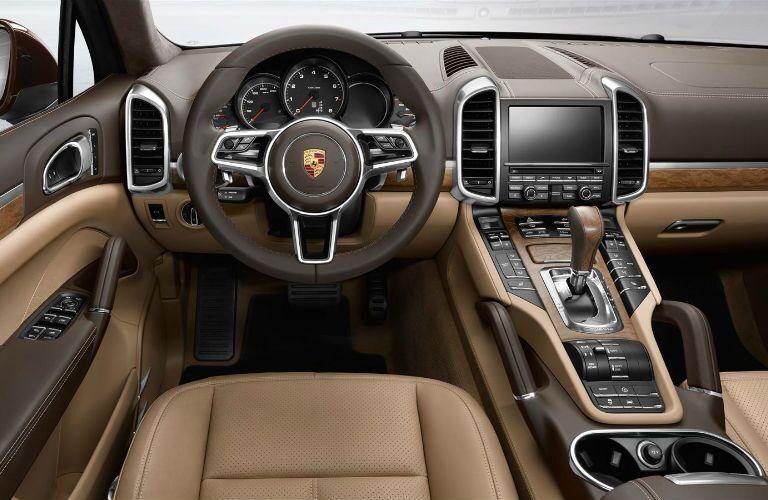 2016 Porsche Cayenne Base Model Interior Steering Wheel Loeber Motors