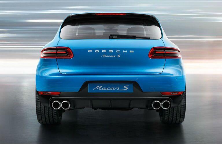 2016 Porsche Macan S Trunk Rear Fascia