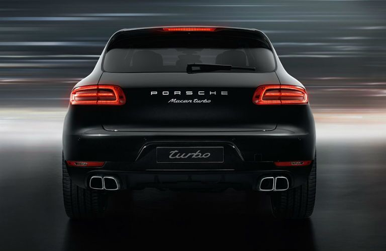 Porsche Macan Turbo Trunk Rear Fascia