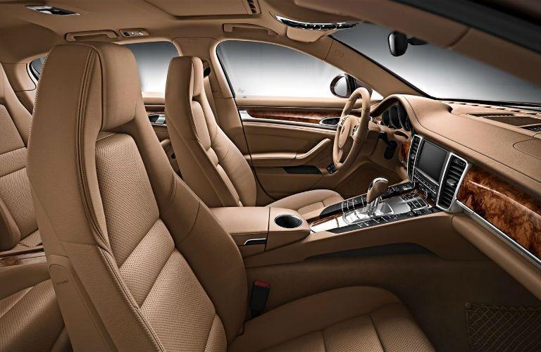 Porsche Panamera Front Seats Loeber Motors