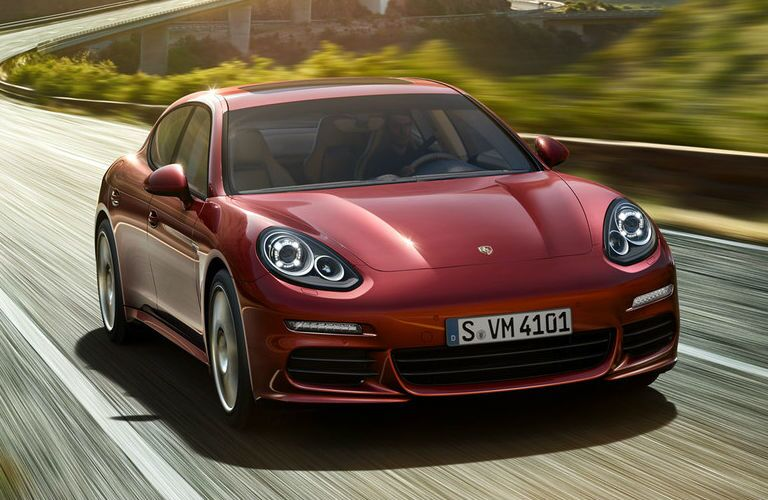 2016 Porsche Panamera Red Chicago IL