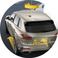 2016 Porsche Cayenne Turbo Porsche Torque Vectoring Plus