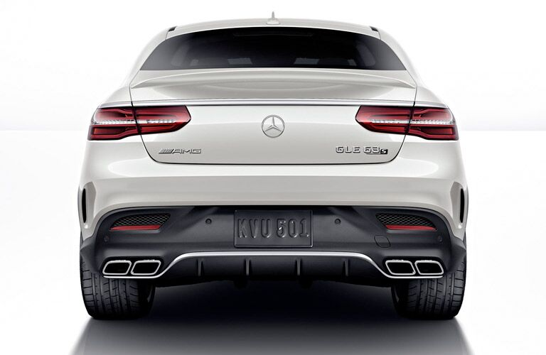 2017 Mercedes-AMG GLE63 S sporty rear end
