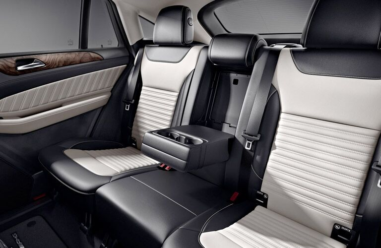2017 Mercedes-AMG GLE63 S nappa leather rear seats