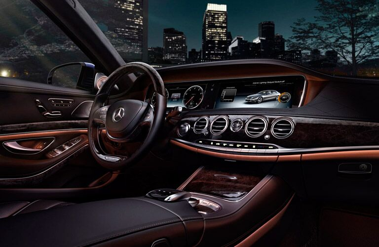 2017 Mercedes-AMG S63 Interior Technology
